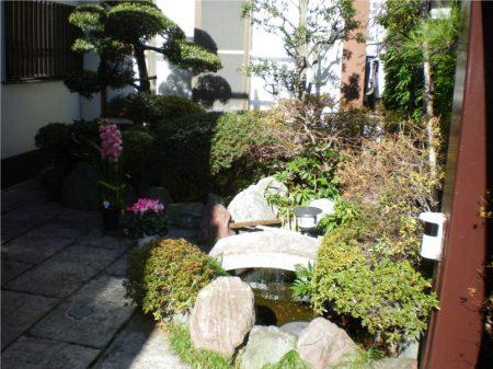 月州寺【境内庭園】