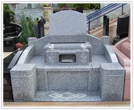 朋友洋型墓石