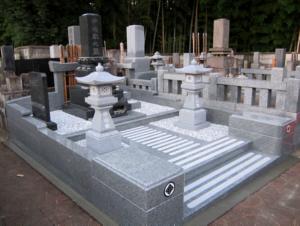 お墓の完成検査