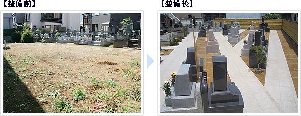 朋友 阿弥陀堂墓苑 整備