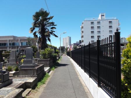 青山墓苑と青山霊園
