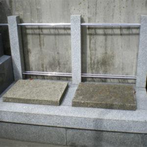 圓通寺 壁際墓地