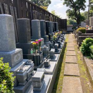福相寺 新区画墓地