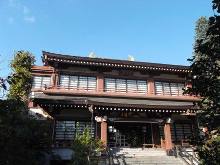 江東区白河 一蝶寺(宣雲寺)【本堂】