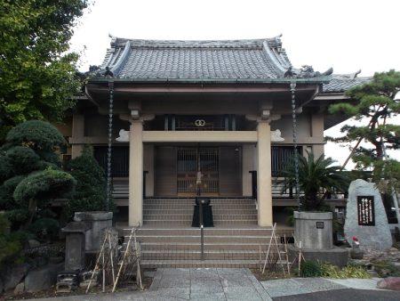 江戸川区鹿骨 密蔵院【本堂】