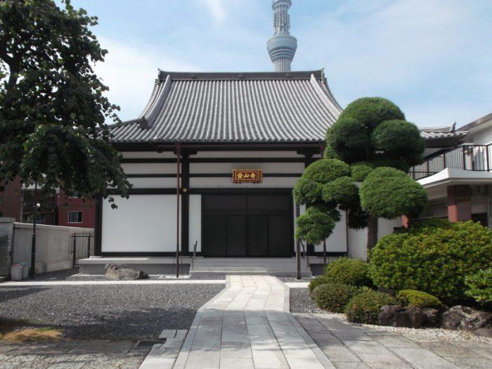墨田区横川 霊山寺