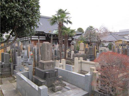 感應寺【墓地】