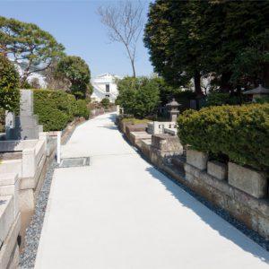 和田堀廟所 厠側参道