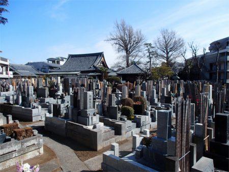 無量寺 墓地
