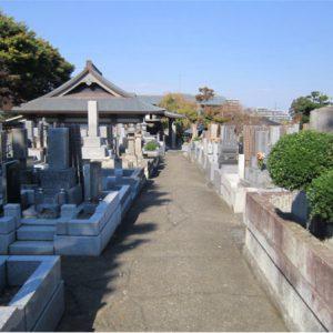 高西寺 墓地風景1