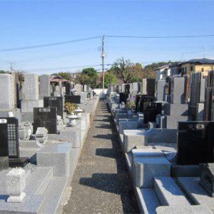 高西寺 墓地風景2