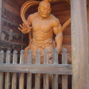 高西寺 仁王像