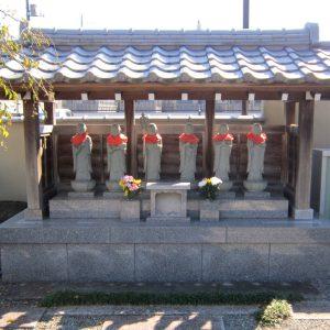 高西寺 六地蔵