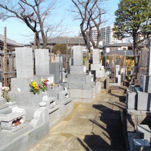 仙龍寺 墓地