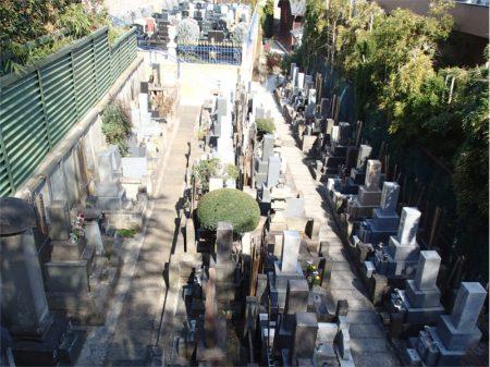 海福寺 墓地
