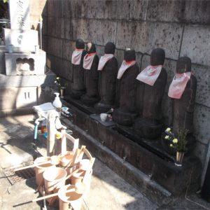 仙龍寺 六地蔵