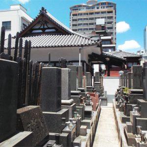 雄松寺 墓地