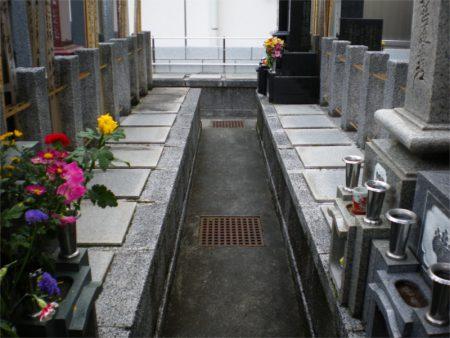 妙教寺 墓地