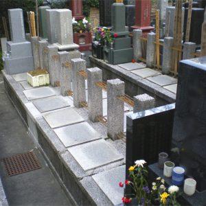 妙経寺 墓地