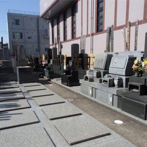長安寺 墓地