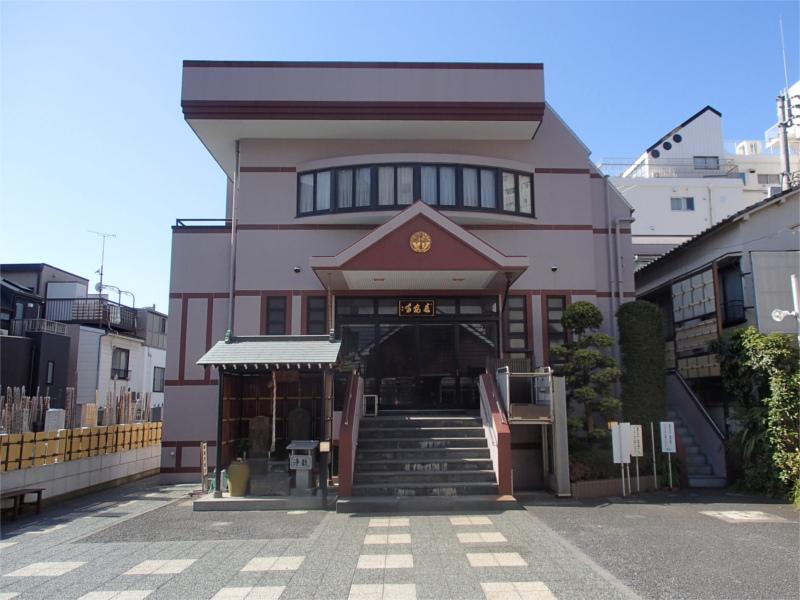 長安寺 本堂
