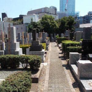 慈眼院 墓地