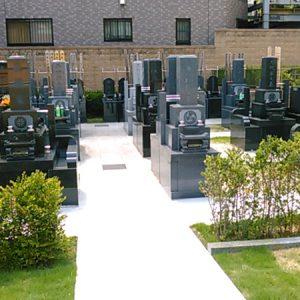 愛染墓苑 墓地