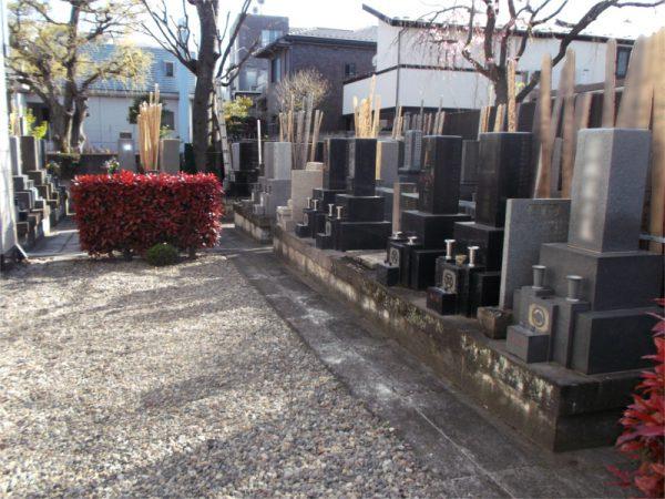 法恩寺 墓地