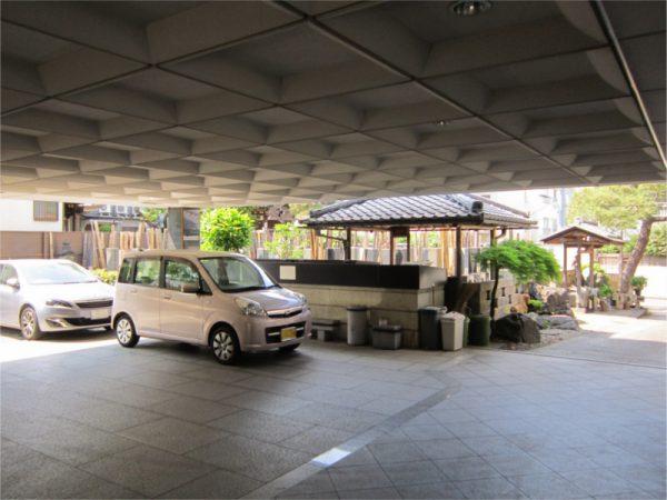 法恩寺 駐車場