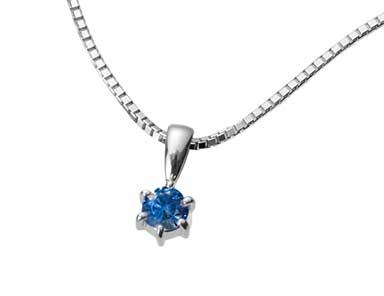 SpP001 Sapphire Pendant