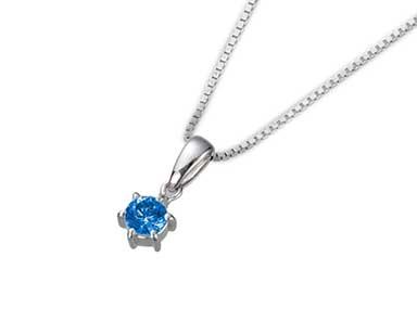 SpP003 Sapphire Pendant