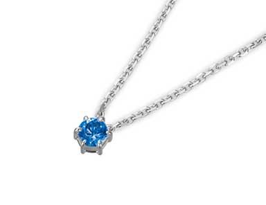 SpP004 Sapphire Pendant