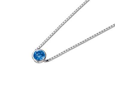 SpP005 Sapphire Pendant