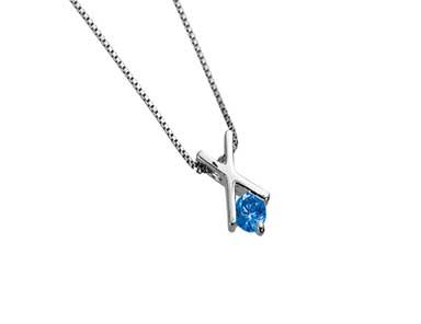 SpP009 Sapphire Pendant