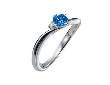 SpR002 Sapphire Ring