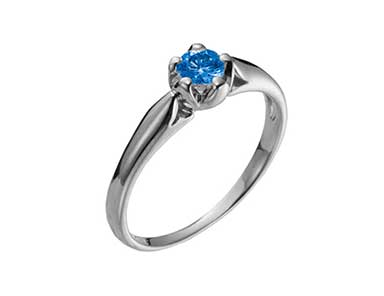 SpR003 Sapphire Ring