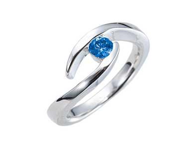 SpR008 Sapphire Ring