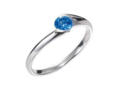 SpR009 Sapphire Ring