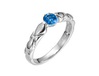 SpR012 Sapphire Ring