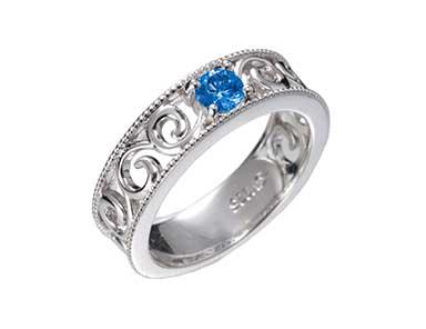 SpR013 Sapphire Ring