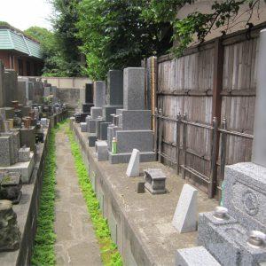 長泰寺 墓地