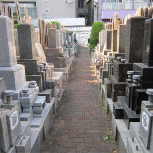 長耀寺の参道
