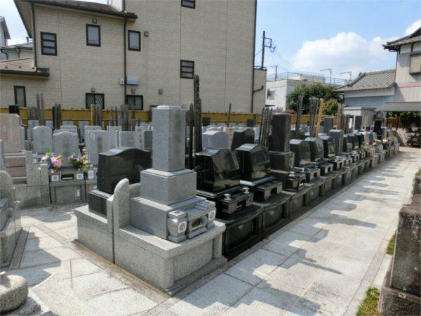 阿弥陀堂墓苑 墓地