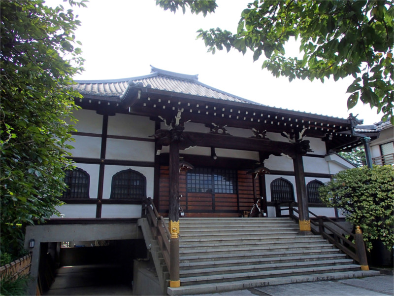 感通寺の本堂