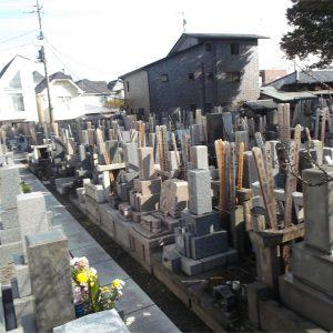西円寺 墓地全景