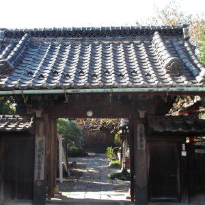宣要寺の山門