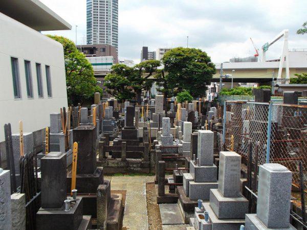 圓澤寺 墓地