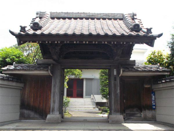 圓澤寺 山門