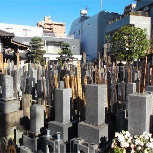 公春院 墓地