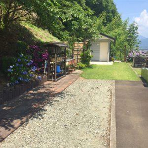 メモリアル富士見霊園 通路